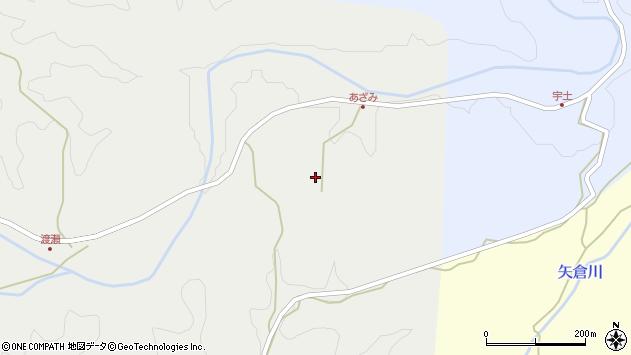 大分県竹田市渡瀬250周辺の地図