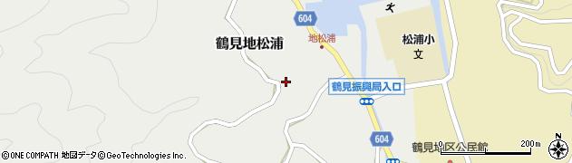 大分県佐伯市鶴見大字地松浦897周辺の地図