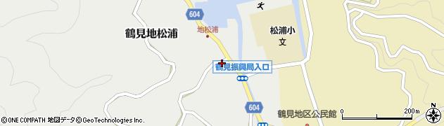 大分県佐伯市鶴見大字地松浦1058周辺の地図