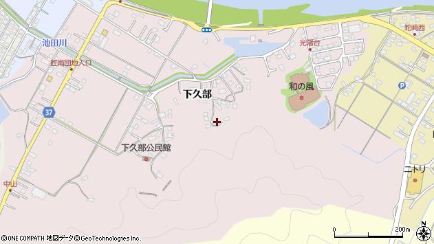 大分県佐伯市池田1634周辺の地図