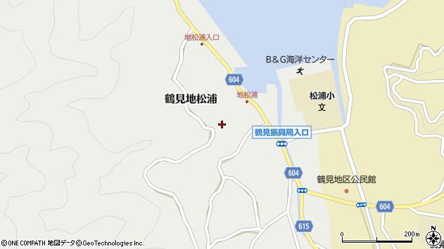 大分県佐伯市鶴見大字地松浦895周辺の地図