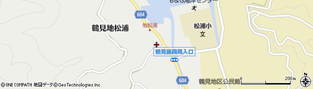 大分県佐伯市鶴見大字地松浦950周辺の地図