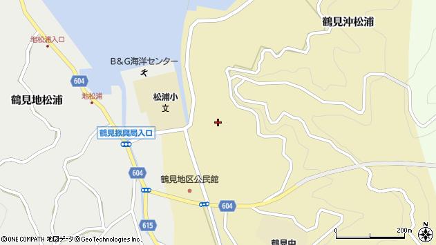 大分県佐伯市鶴見大字沖松浦790周辺の地図