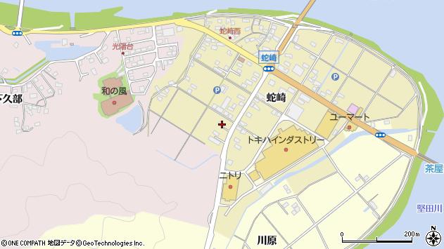 大分県佐伯市池田1989周辺の地図