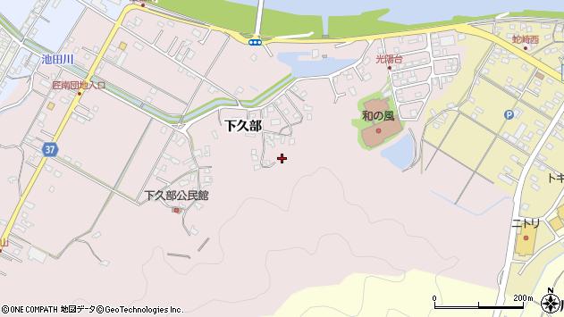 大分県佐伯市池田1623周辺の地図