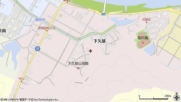大分県佐伯市池田1584周辺の地図