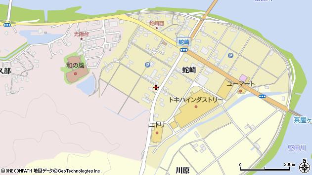 大分県佐伯市池田1988周辺の地図