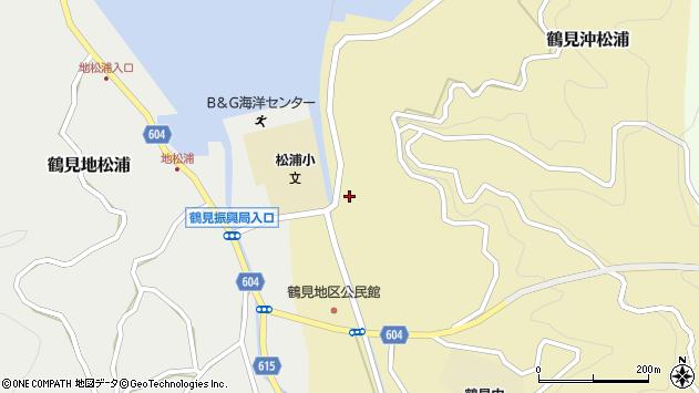 大分県佐伯市鶴見大字沖松浦764周辺の地図