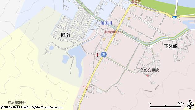 大分県佐伯市池田1112周辺の地図