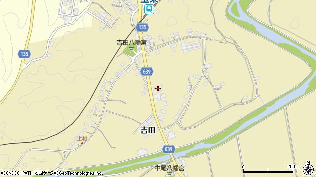 大分県竹田市吉田380周辺の地図