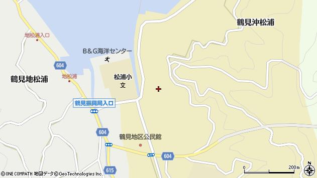 大分県佐伯市鶴見大字沖松浦803周辺の地図