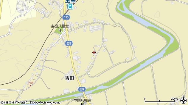 大分県竹田市吉田147周辺の地図