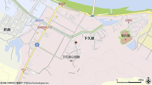 大分県佐伯市池田1485周辺の地図