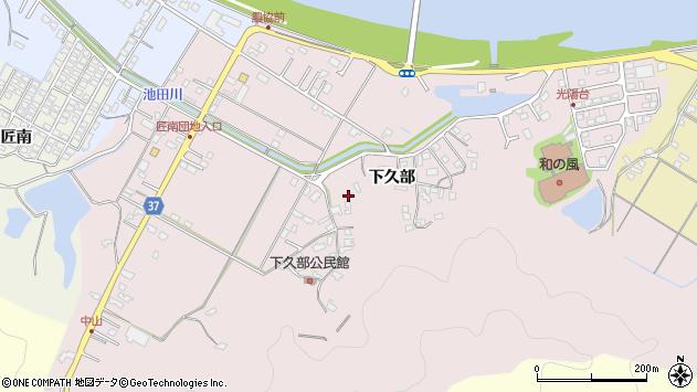 大分県佐伯市池田1587周辺の地図