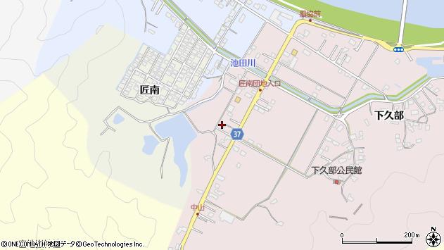 大分県佐伯市池田1110周辺の地図