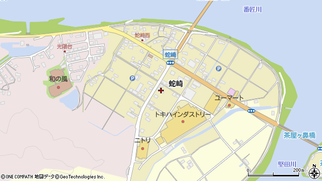 大分県佐伯市池田2098周辺の地図