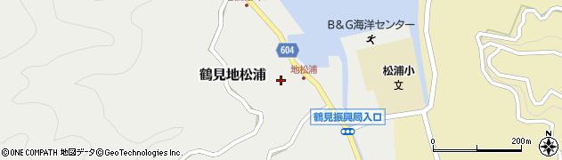 大分県佐伯市鶴見大字地松浦885周辺の地図
