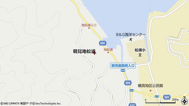 大分県佐伯市鶴見大字地松浦795周辺の地図
