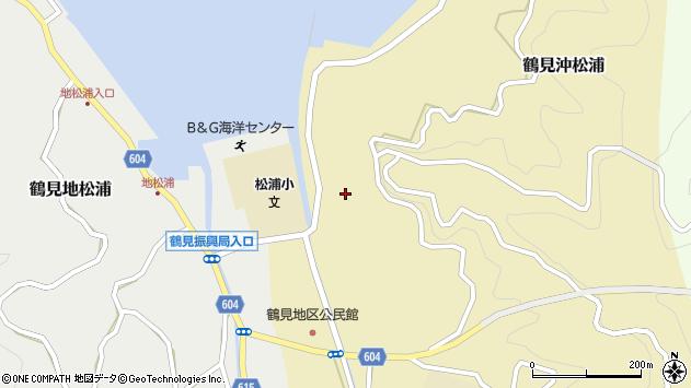 大分県佐伯市鶴見大字沖松浦793周辺の地図