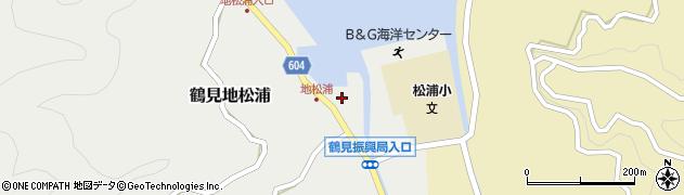 大分県佐伯市鶴見大字地松浦935周辺の地図