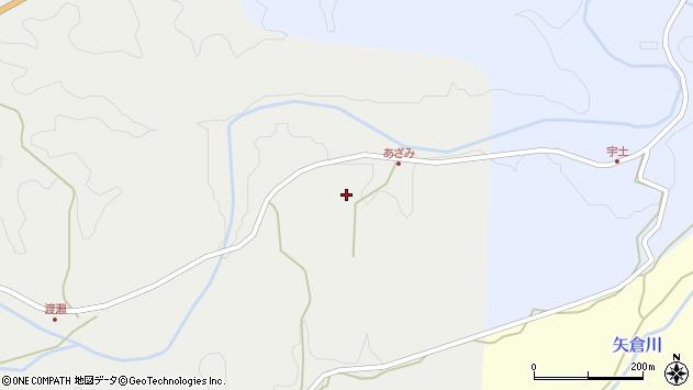 大分県竹田市渡瀬244周辺の地図