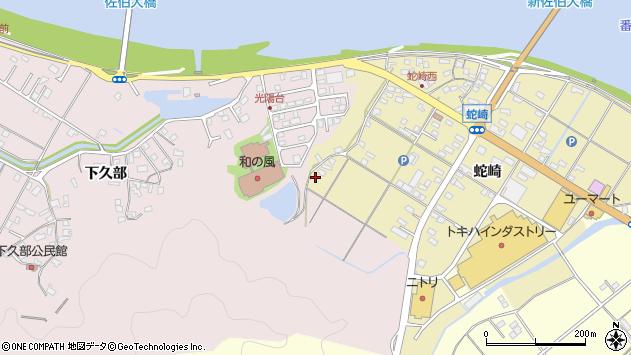 大分県佐伯市池田2039周辺の地図