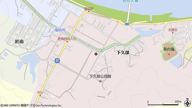 大分県佐伯市池田1239周辺の地図