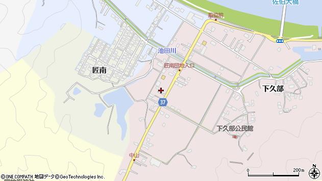 大分県佐伯市池田1108周辺の地図