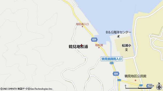 大分県佐伯市鶴見大字地松浦788周辺の地図