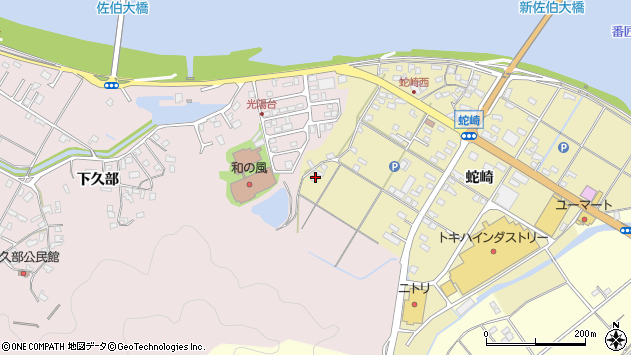 大分県佐伯市池田2038周辺の地図