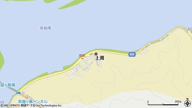 大分県佐伯市10005周辺の地図