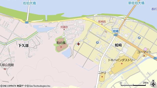 大分県佐伯市池田2034周辺の地図