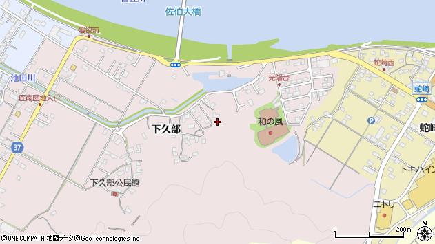 大分県佐伯市池田1660周辺の地図