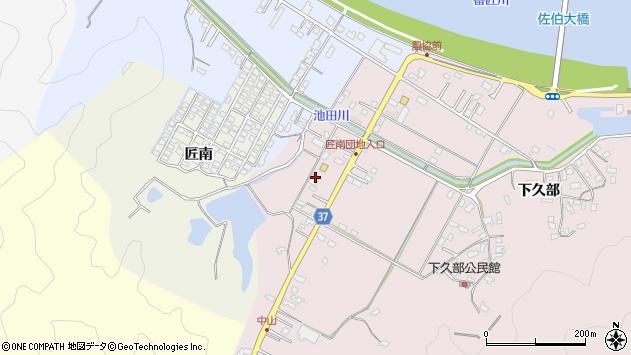 大分県佐伯市池田1107周辺の地図