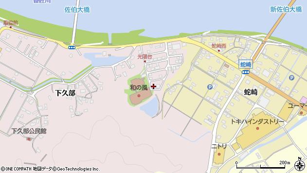 大分県佐伯市池田2257周辺の地図