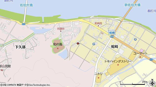 大分県佐伯市池田2031周辺の地図