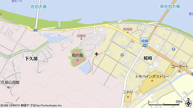 大分県佐伯市池田2036周辺の地図
