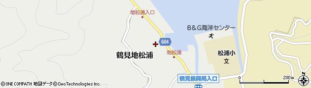 大分県佐伯市鶴見大字地松浦583周辺の地図