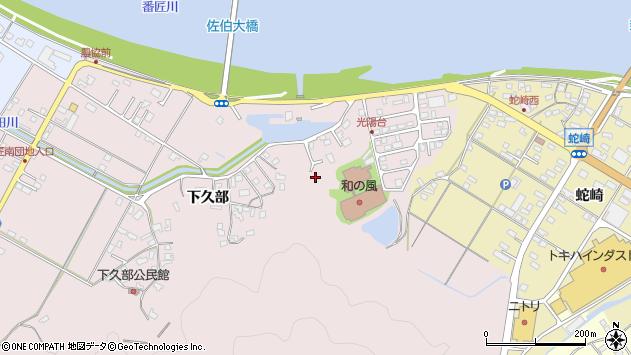 大分県佐伯市池田1683周辺の地図