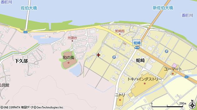 大分県佐伯市池田1817周辺の地図