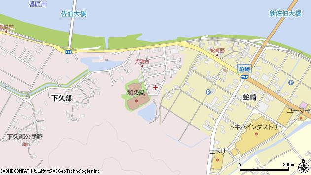 大分県佐伯市池田2256周辺の地図