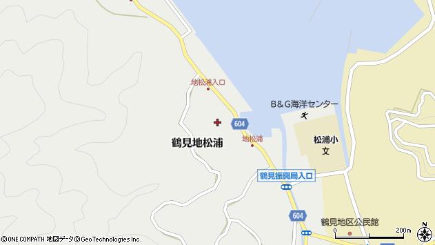大分県佐伯市鶴見大字地松浦576周辺の地図