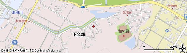 大分県佐伯市池田662周辺の地図