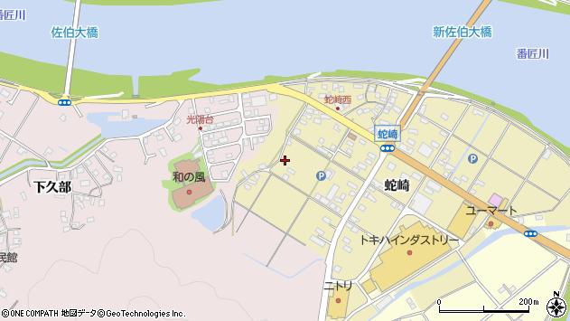 大分県佐伯市池田1822周辺の地図