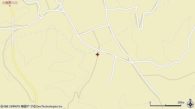 大分県竹田市入田2354周辺の地図