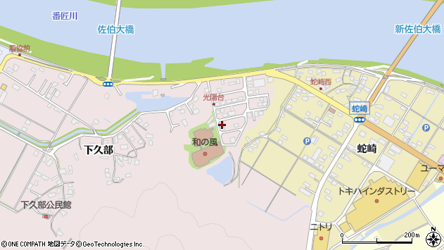 大分県佐伯市池田1699周辺の地図