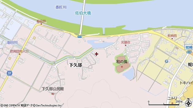 大分県佐伯市池田1666周辺の地図