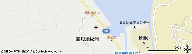 大分県佐伯市鶴見大字地松浦574周辺の地図