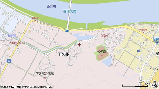 大分県佐伯市池田1665周辺の地図