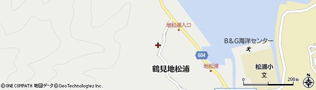 大分県佐伯市鶴見大字地松浦529周辺の地図